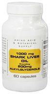Shark Liver Oil providing 200mg Alkylglycerols