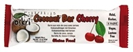 Organic Coconut Bar with Cherry Gluten-Free