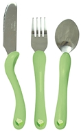Green Sprouts Toddler Cutlery Set BPA Free 12+ Months Stage 5 and Up