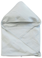"Organic Cotton Knitted Hooded Towel 30"" x 30"""