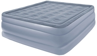 Full Size Raised Air Bed With Flock Top 8507AB