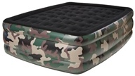 Queen Raised Air Bed With Flock Top 8508CDB