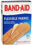 Band-Aid Adhesive Bandages Flexible Fabric Assorted Sizes
