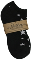 Socks Cotton Patterned Footie Size 10-13 Stars