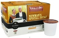 Newman's Own Organics Newman's Special Decaf Coffee 12 K-Cups