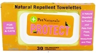 Protect Flea and Tick Natural Repellent Towelettes