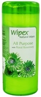 All Purpose Wipes with Floral Rosemary Extra Large 7 in. x 9 in.