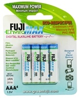 Digital Alkaline Batteries AAA