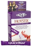 QuickTrim HotStix Thermogenic Beauty Stick with Raspberry Ketones