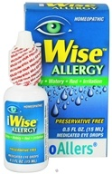 iWise Allergy Homeopathic Medicated Eye Drops