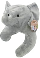 Endangered Species Travel Buddy Neck Pillow and Blanket Asian Elephant