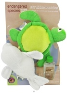 Endangered Species Scrubbie Buddies Set with 2 oz. Bubble Bath