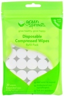 Green Sprouts Disposable Compressed Wipes Refill Pack