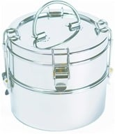 2-Tier Tiffin Set Portable Food Carrier