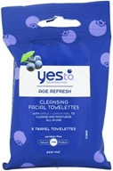 Blueberries Cleansing Facial Towelettes