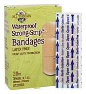 Waterproof Strong-Strip Bandages Latex Free