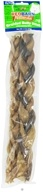 Natural Braided Bully Sticks Dog Chews 12 in.