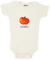 100% Organic Cotton Short Sleeve BodySuit With Wearable Greetings Gift Box