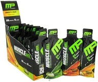 Muscle Gel Protein On The Go Variety Pack - 12 x 1.55 oz.