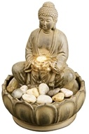 EnviraScape Buddha Illuminated Relaxation Fountain WFL-BUDD