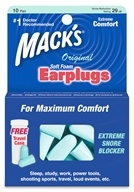 Original Soft Foam Ear Plugs Bonus Pack 10 Pair + 2 Free