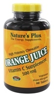 Orange Juice Chewable Vitamin C