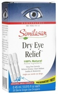 Dry Eye Relief 20 Single-Use Droppers