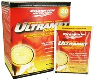 Ultramet Original Banana Cream - 20 x 2.7oz (76g) Packets