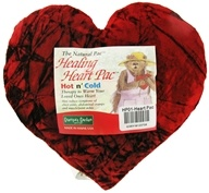 Healing Heart Pac Original Red Velvet Fabric 9""