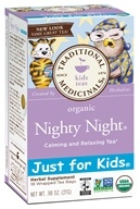 Just for Kids Organic Nighty Night Tea