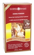 Henna Brasil Powder Natural Hair Coloring Strawberry Blonde