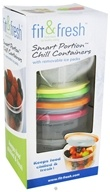 Smart Portion Chill Containers with Removable Ice Pack