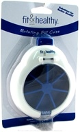 Fit & Healthy Rotating Pill Case