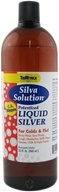 Silva Solution - Potentized Liquid Silver - For Colds & Flu