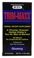 Trim-Maxx Ginseng Herbal Dieter's Tea for Men and Women