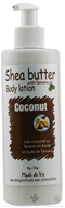 Shea Butter Body Lotion Coconut with Tamanu Oil