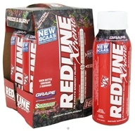 Redline Xtreme Ultimate Energy Rush RTD Energy Drink 4 x 8 oz.