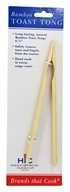 Toast Tongs Bamboo 6.5 inches