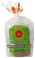 Bread Light White Rice Loaf Gluten Free