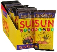 Sun Drops Chocolate Candies Peanut