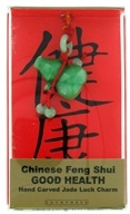 Chinese Feng Shui Hand Carved Jade Luck Charm Good Health Gourd