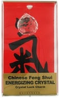 Chinese Feng Shui Crystal Luck Charm Energizing Crystal