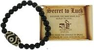 Secret To Luck DZI Beads Bracelet Onyx