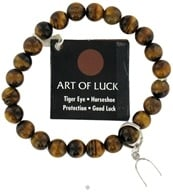 Art Of Luck Bracelet Tiger Eye Horseshoe Protection & Good Luck