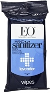 EO Products - Hand Sanitizer Wipes Lavender - 10 Pack