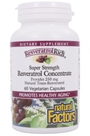 Natural Factors - ResveratrolRich Reservatrol Concentrate Super