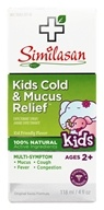 Kids 2-12 Cold & Mucus Relief Cough Expectorant Syrup