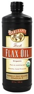 Fresh Flax Oil 100% Organic Pure & Unfiltered Cold Pressed