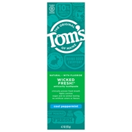 Tom's of Maine - Natural Toothpaste Fluoride Long-Lasting