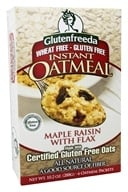 Glutenfreeda - Instant Oatmeal Maple Raisin with Flax